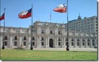 Palacio de La moneda Chile
