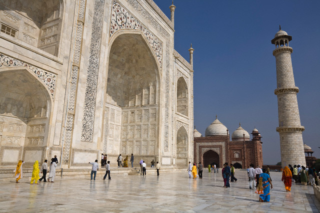 Agra-Taj Mahal, India