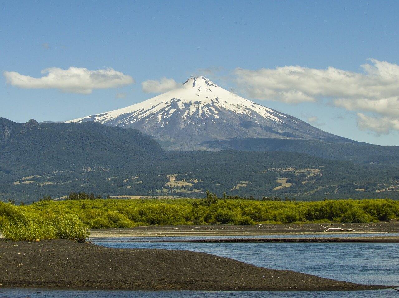 Vulcão Villarica, em Pucon