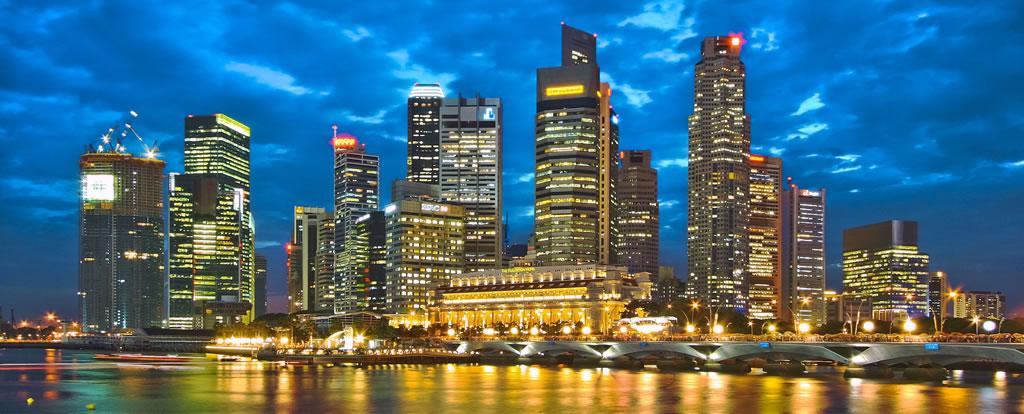 Singapore Skyline vista