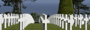 França e o enorme Cemitério dos Americanos.