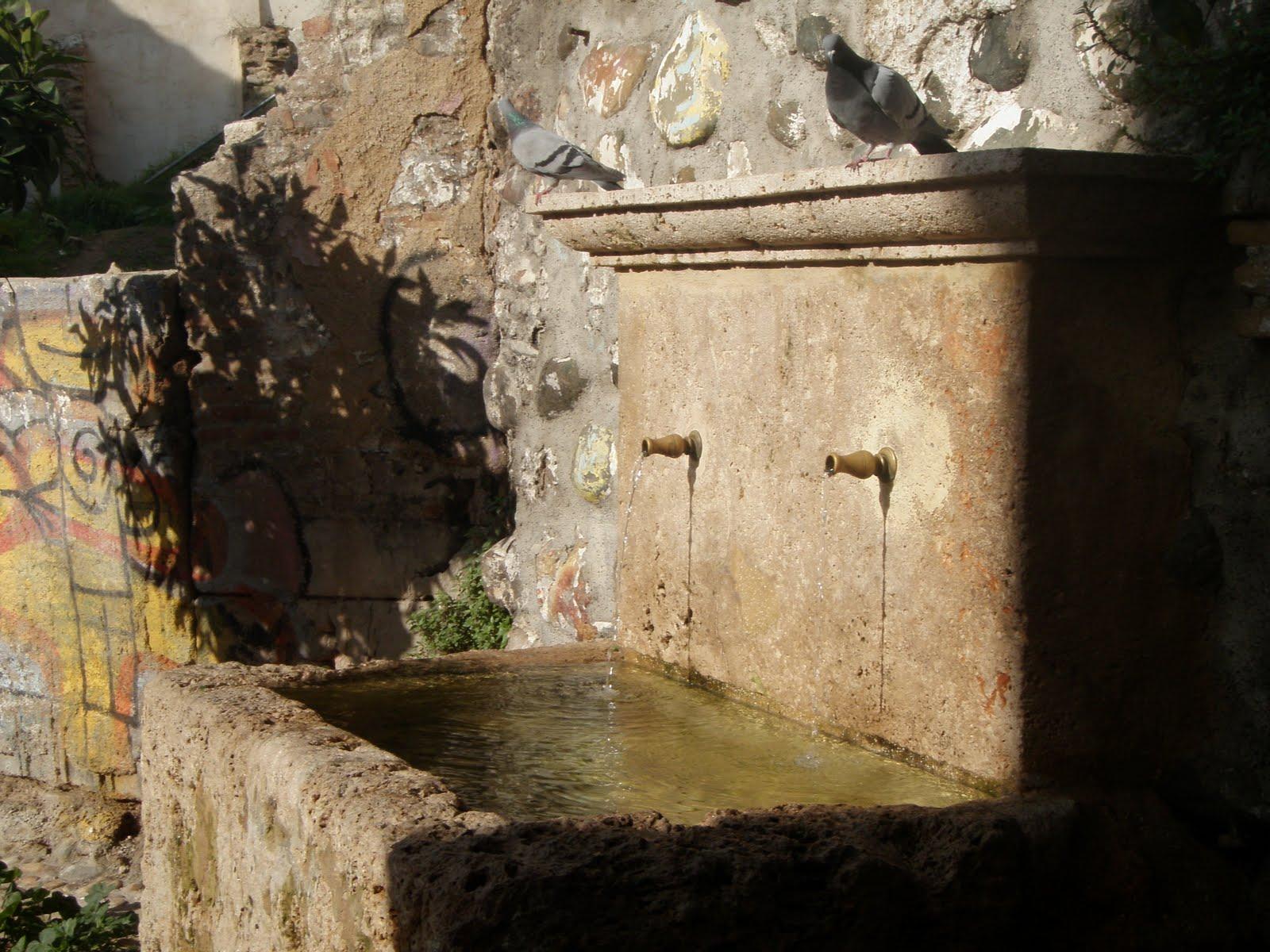 Fontes Potáveis para a Cultura Muçulmana, Granada - Espanha