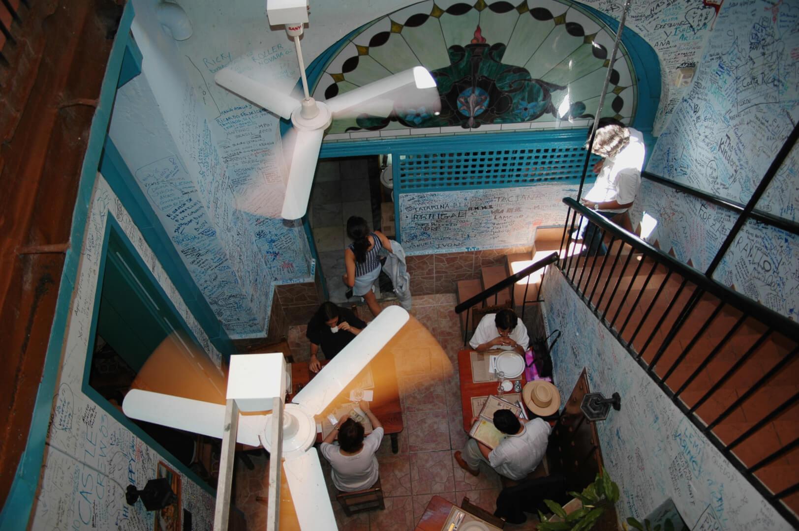 Cuba Havana La Bodeguita del medio Hemingway bar mojito