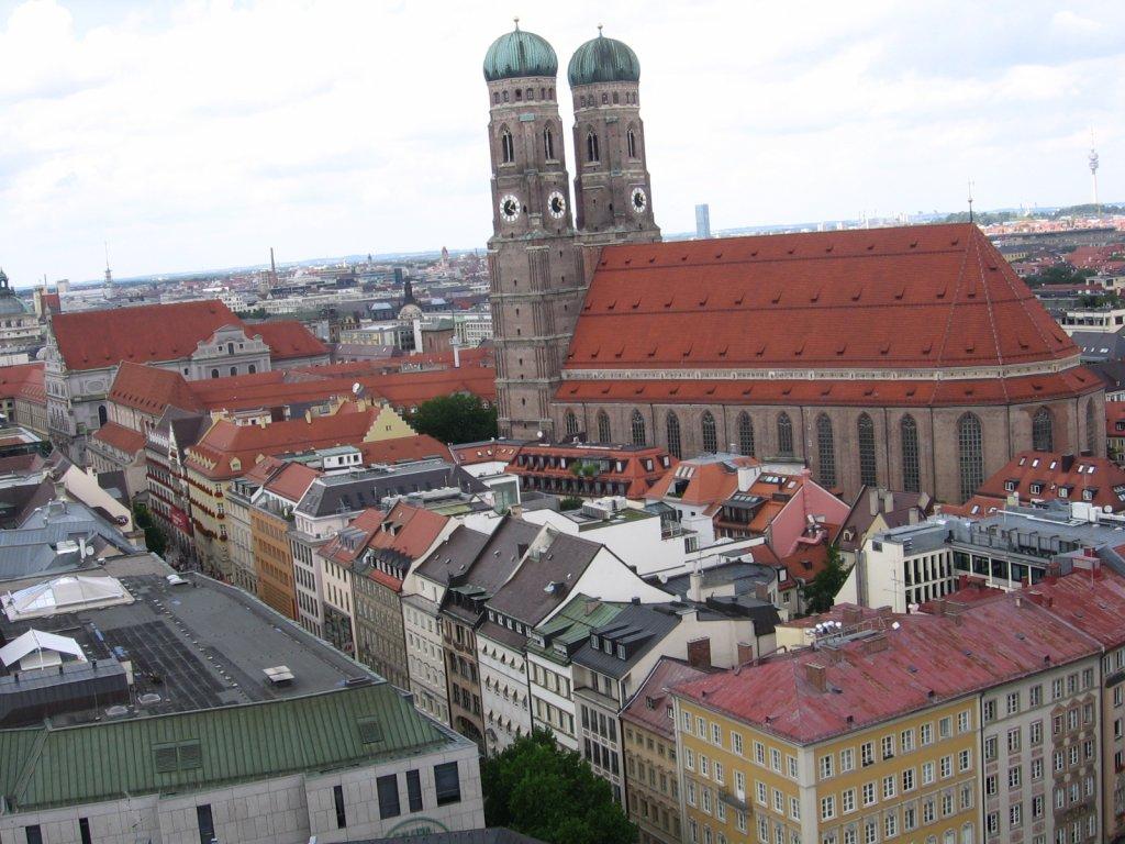 Baviera - Frauenkirche (Catedral Nossa Senhora Bendita, 1494)
