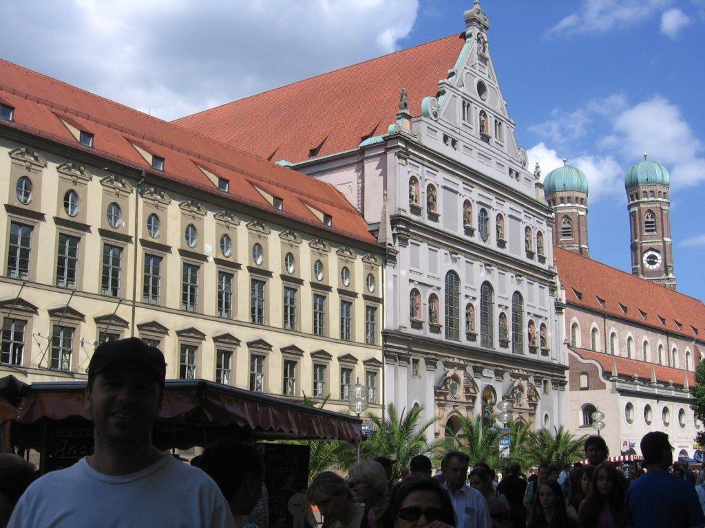 Baviera -  Karlsplatz (Praça de Carlos)