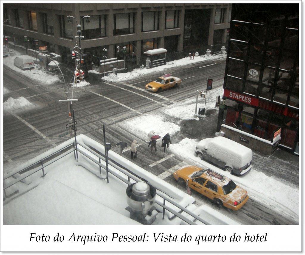 New York - vista do quarto do hotel