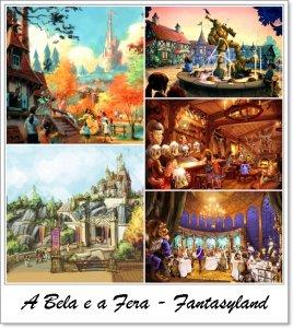 A Bela e a Fera - Complexo Disney