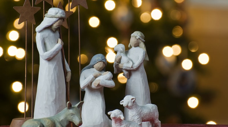"""Nativity tree2011"" by Jeff Weese - Flickr: Nativity. Licensed under CC BY 2.0 via Commons - https://commons.wikimedia.org/wiki/File:Nativity_tree2011.jpg#/media/File:Nativity_tree2011.jpg"