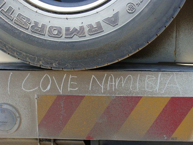 O amor a Namíbia é contagiante