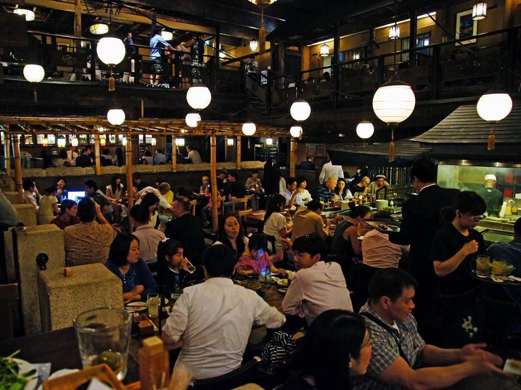 Gonpachi em Tóquio