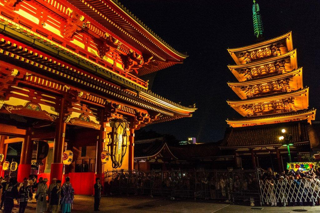 Senso ji Temple. Foto: Yoshikazu Takada