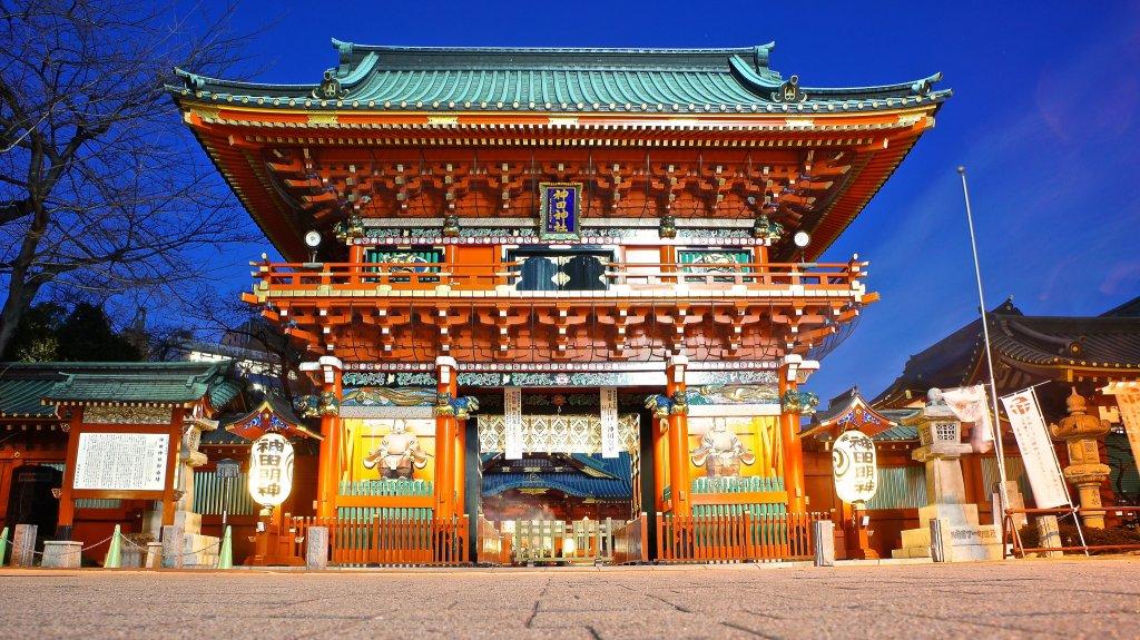 Kanda Myojin Shrine em Tóquio. Foto: Manish Prabhune