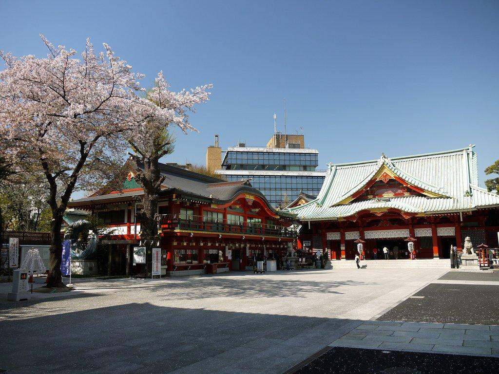 Kanda Myojin Shrine em Tóquio. Foto: Yoshikazu TAKADA