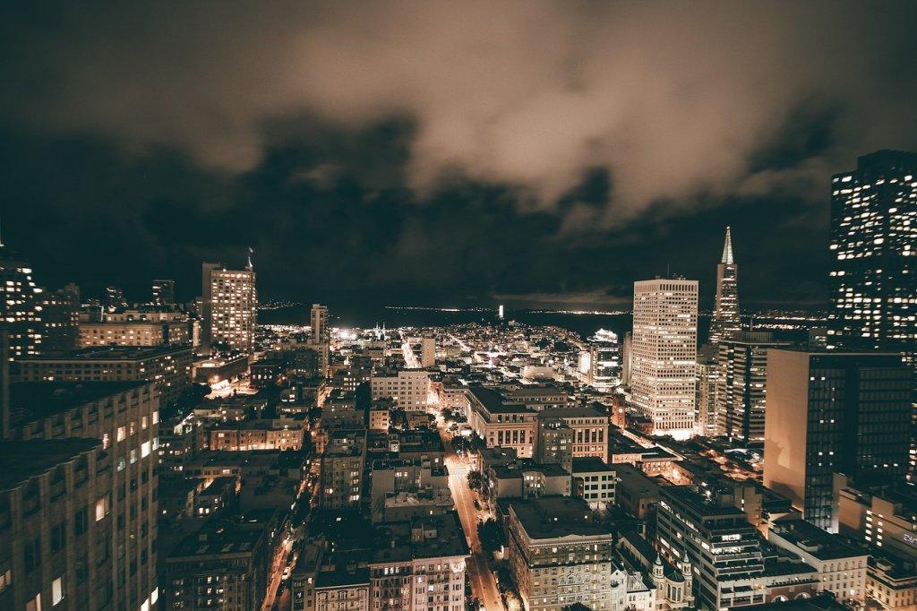 São Francisco Área Da Baía Califórnia Golden Gate.