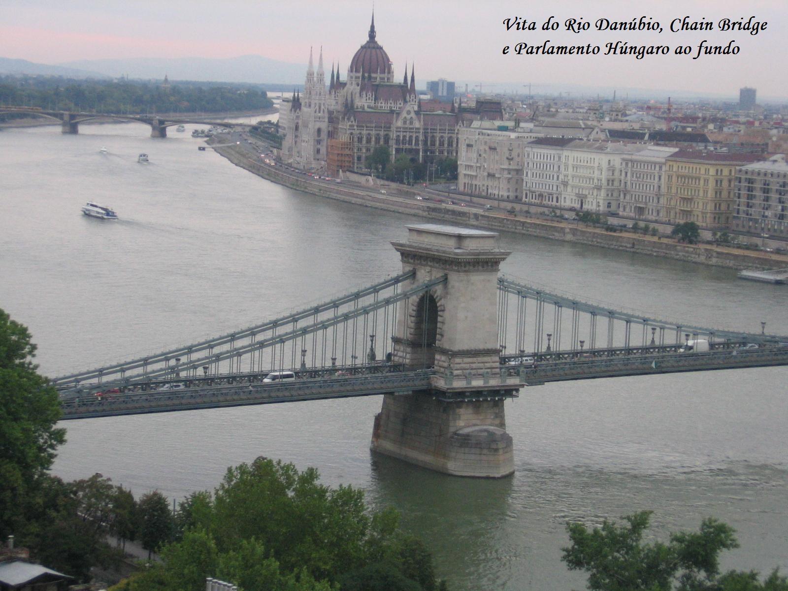 vista do Rio Danubio