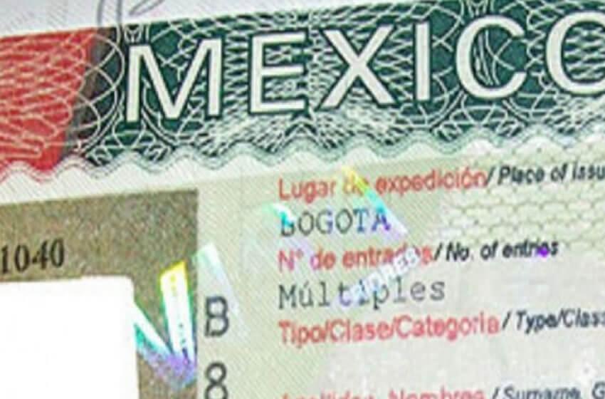 Visto para o México