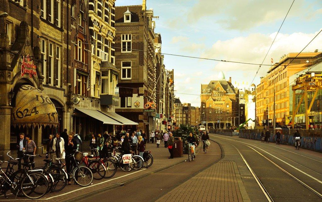 Amsterdam Dungeons, na Damrak. Foto: Flavio Pimentel