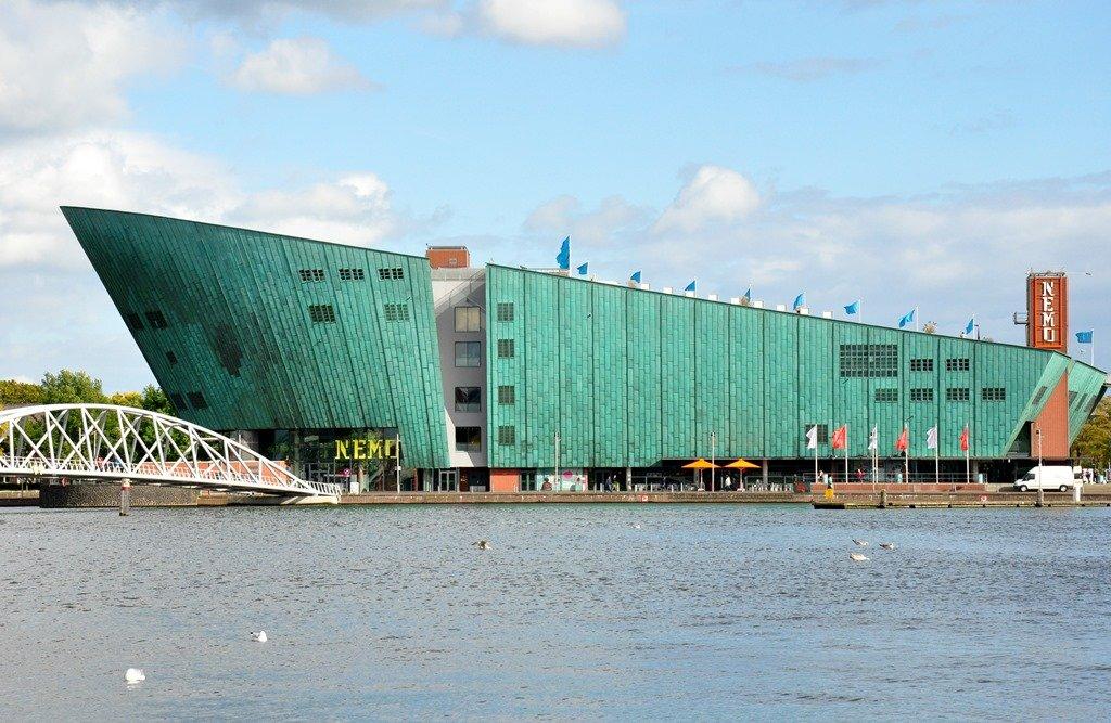 NEMO - centro de ciências e tecnologia. Amsterdam. Foto: Flavio Pimentel