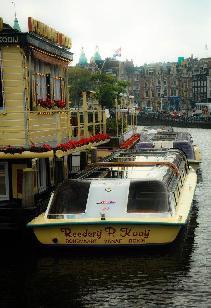 Os passeios de barco são uma boa opção para admirar a vista (4). Amsterdam. Foto: Flavio Pimentel