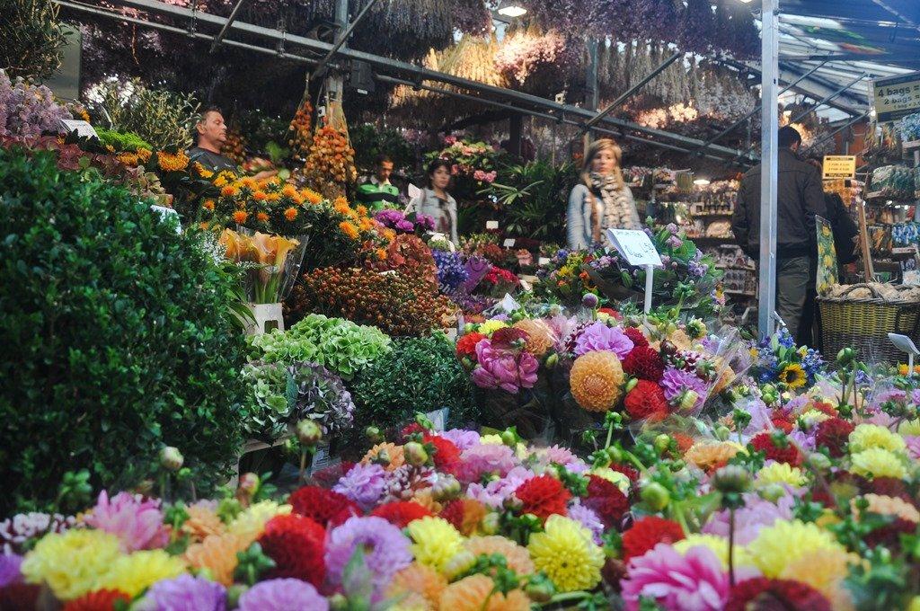 Singel, a rua das flores. Amsterdam. Foto 1: Flavio Pimentel