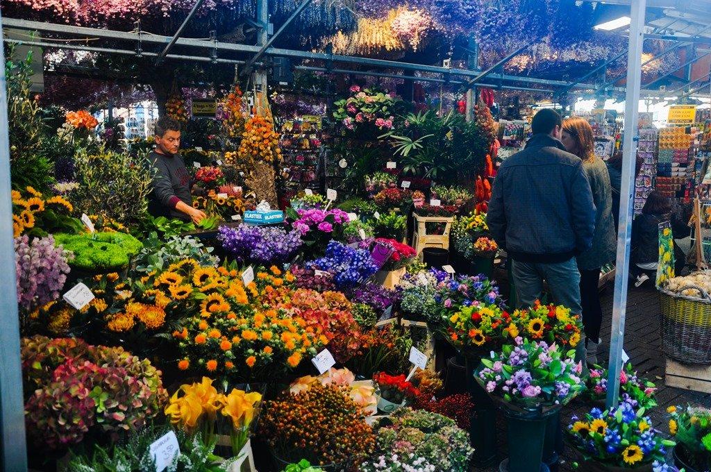 Singel, a rua das flores. Amsterdam. Foto 3: Flavio Pimentel