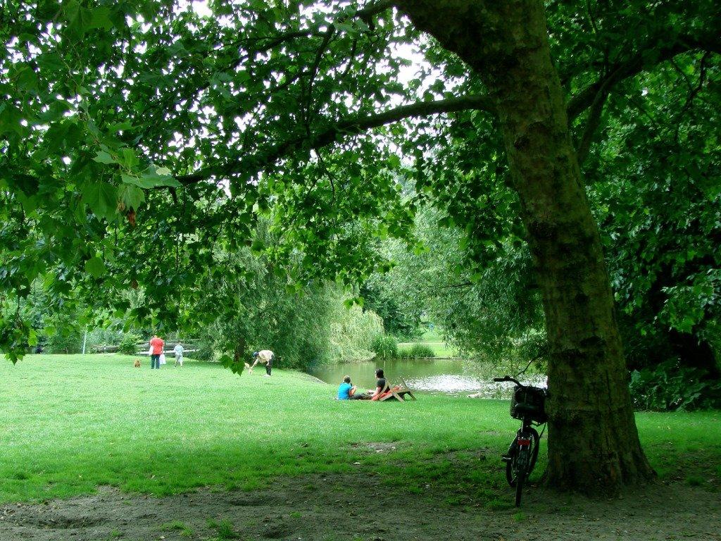 Tranquilidade no Vondelpark. Amsterdam. Foto: Flavio Pimentel