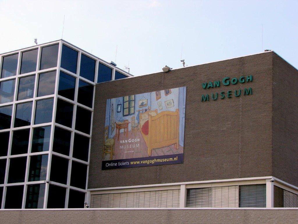 Van Gogh museum. Amsterdam. Foto: Flavio Pimentel