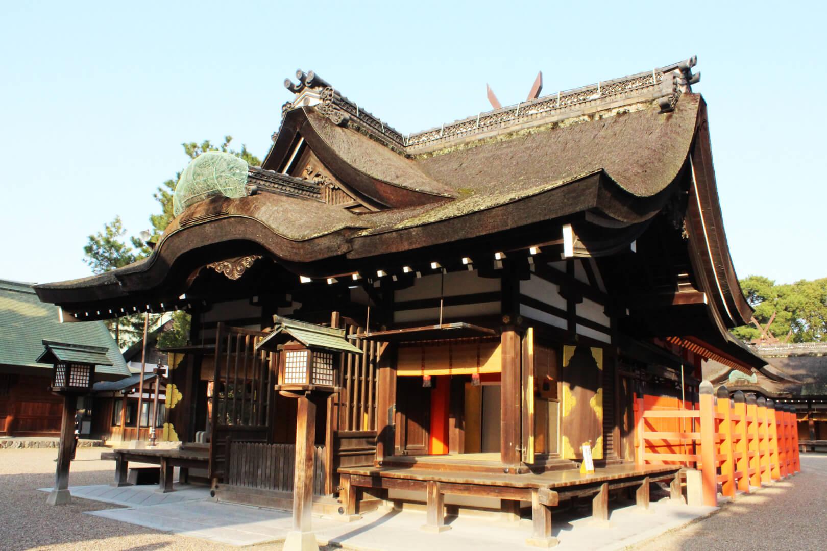 Templo de Sumiyoshi Taisha. Foto: @James Gochenouer