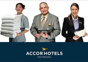 vagas de emprego no exterior na AccorHotels