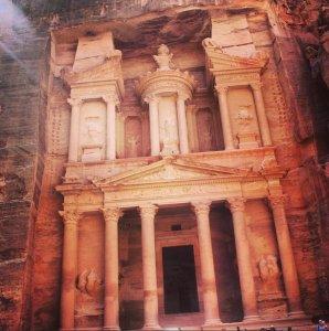 """Petra - Al Khazneh, """"O Tesouro"""""""