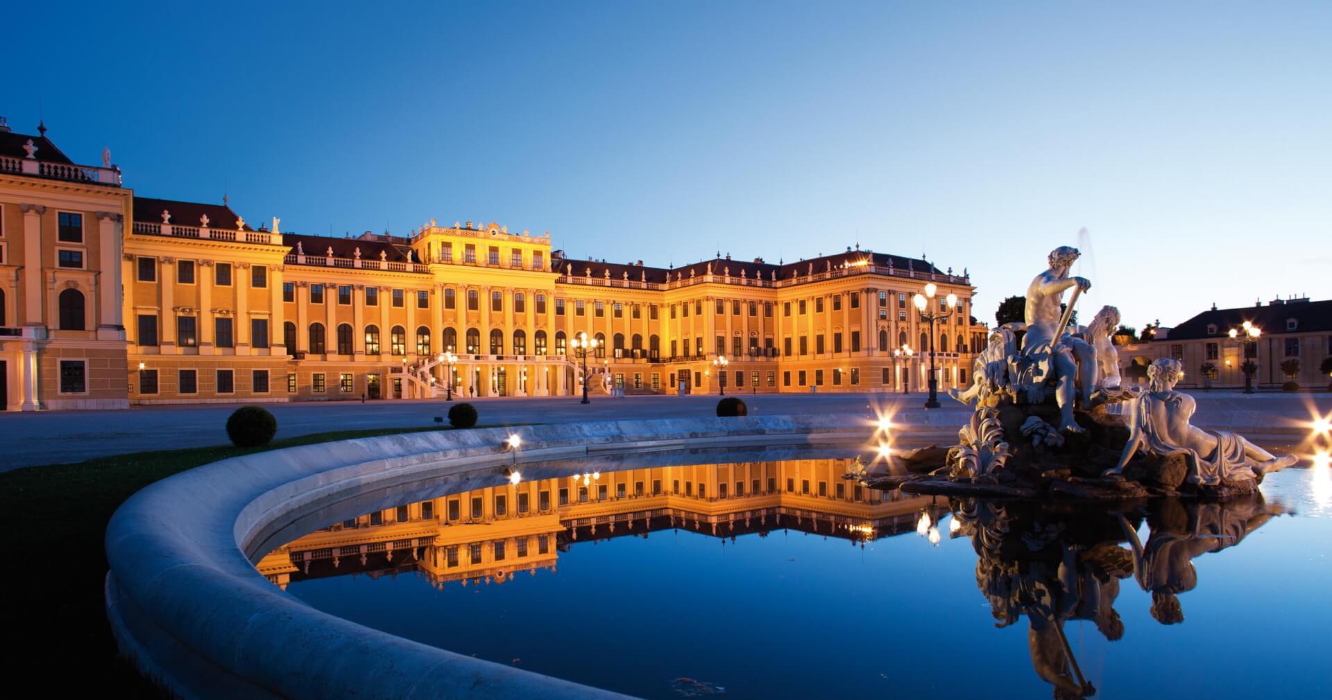 Palácios Schönbrunn