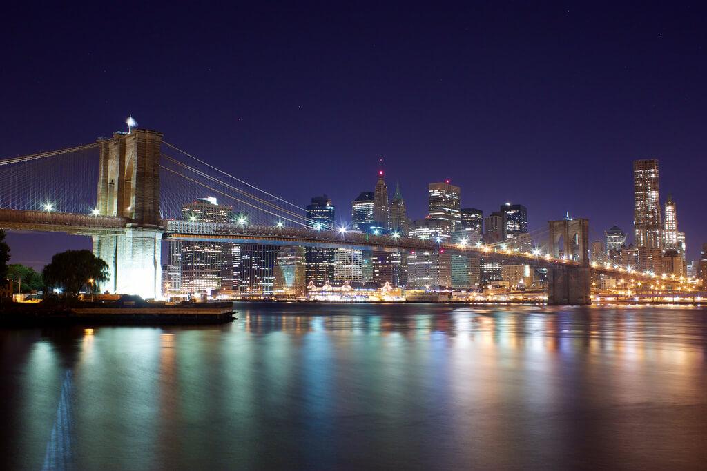 Brooklyn Bridge - Nova York. Foto: Jiuguang Wang