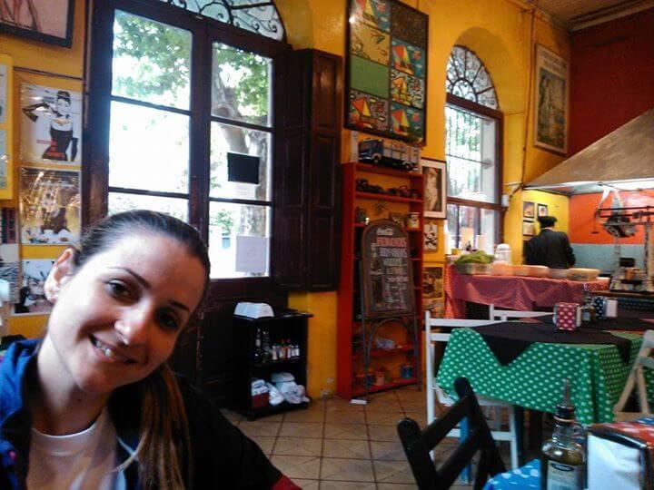Sair do Brasil de Bicicleta - Restaurante El Drugstore (Crédito Márcia Procópio)
