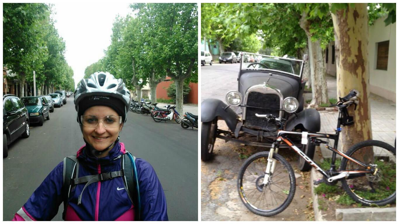 Rua de Colonia del Sacramento e seus carros antigos (Credito: Márcia Procópio)