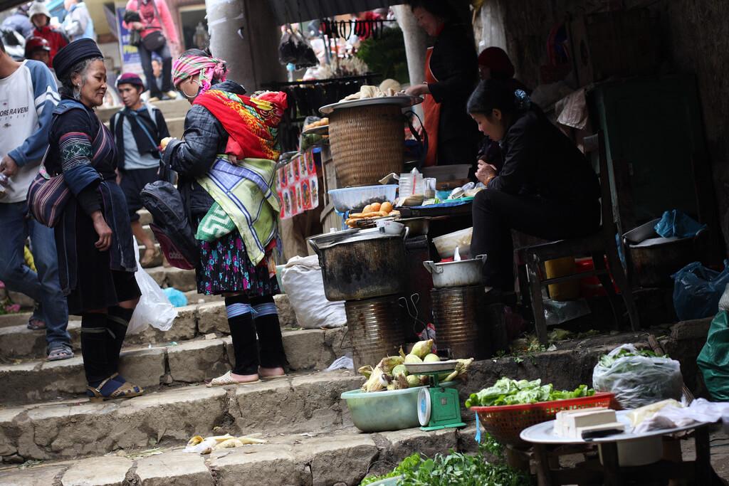 Sapa, Vietnã. Foto: yeowatzup