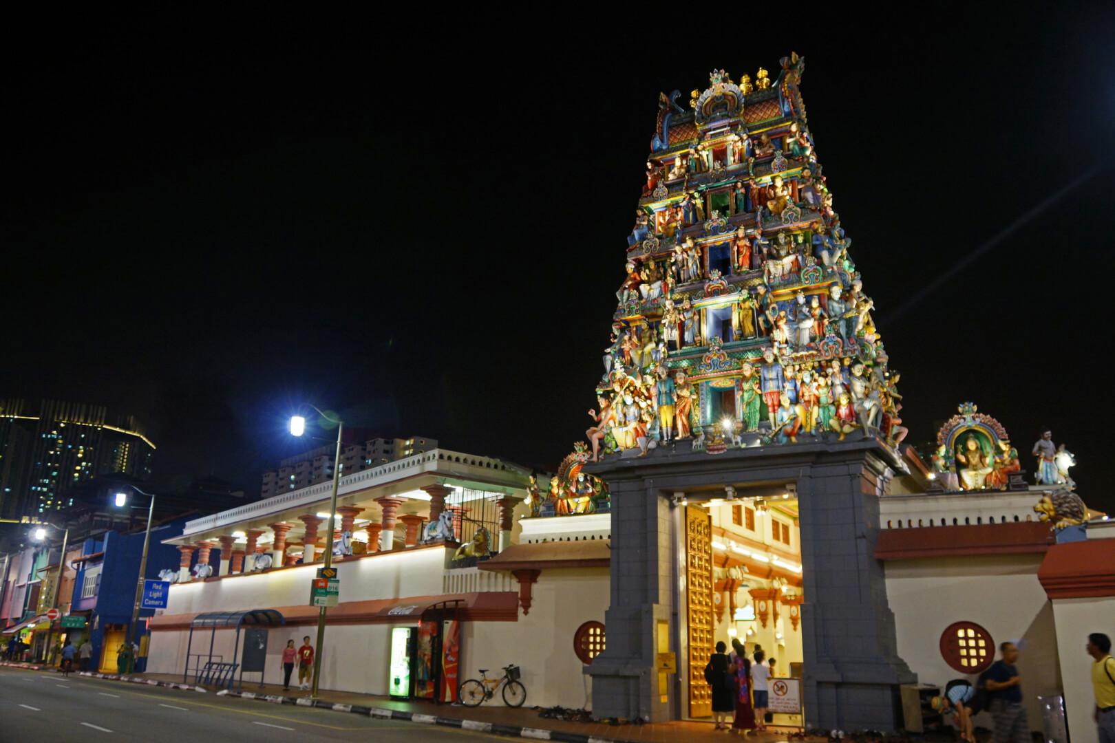Chinatown, Sri Mariamman Templo. Foto: Allie_Caulfield