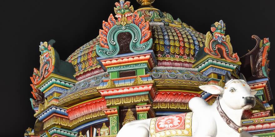 Sri Mariamman templo. Foto: Tristan Schmurr