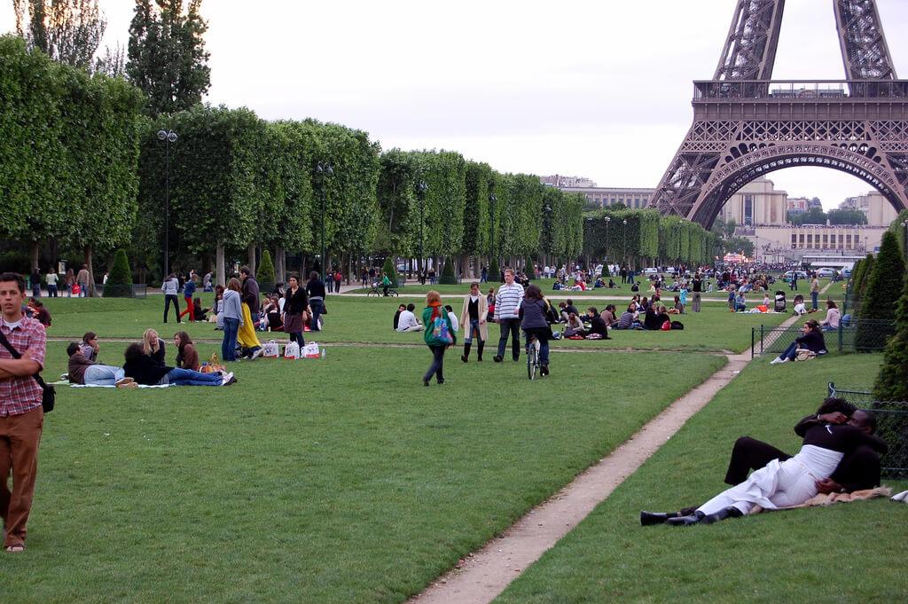 Champs de Mars em Paris