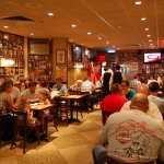 Interior do Carnegie Deli