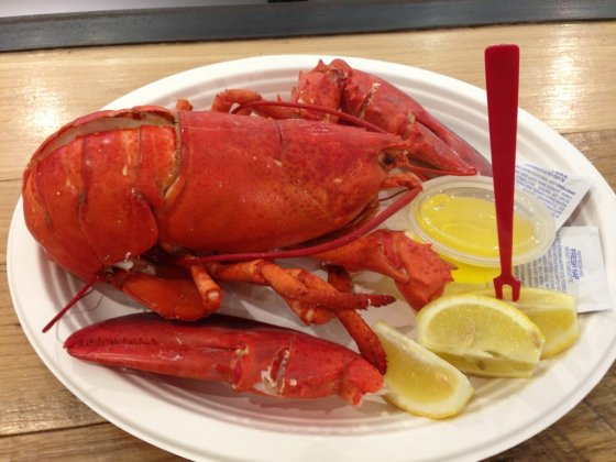 Chelsea Market - Lagosta no Lobster Place