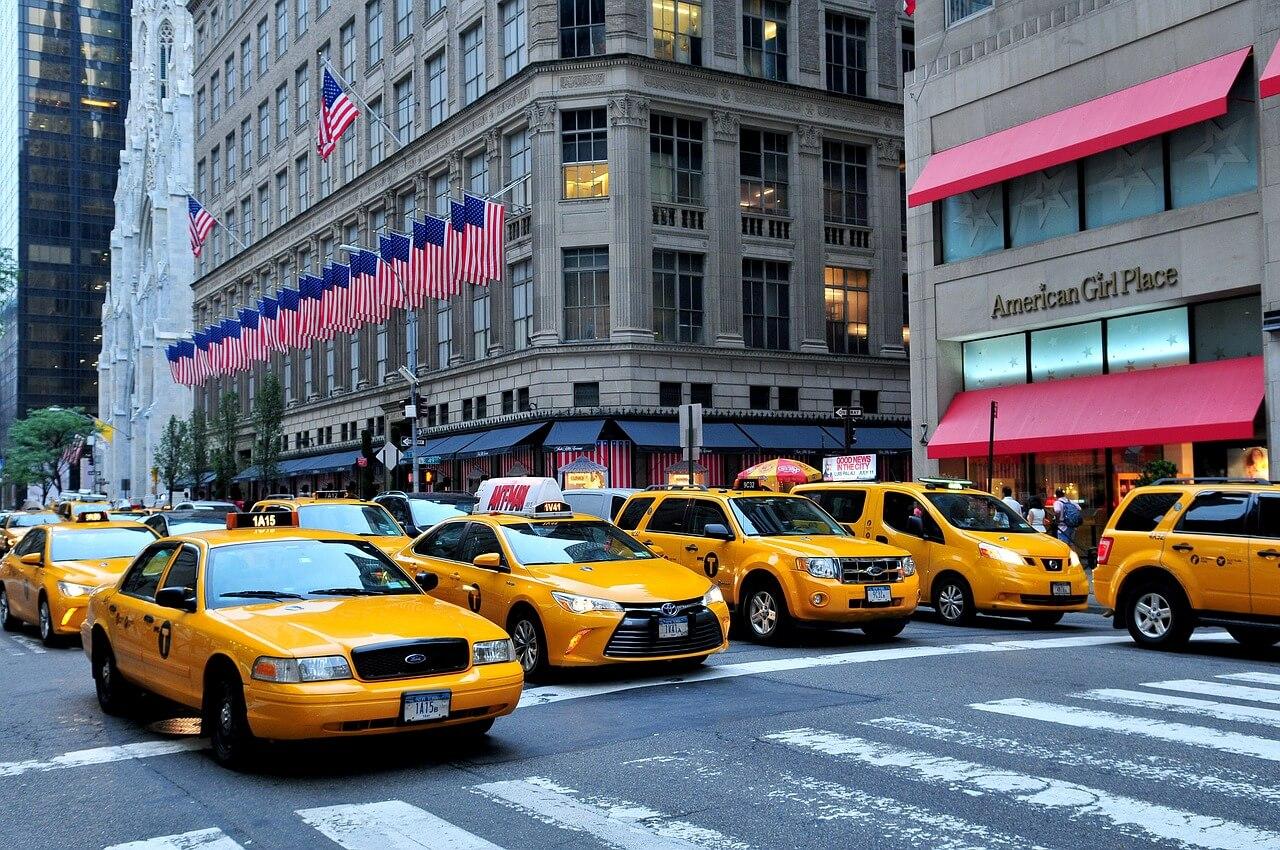 Transporte em New York, explicamos para você como funciona. Manhattan Táxi