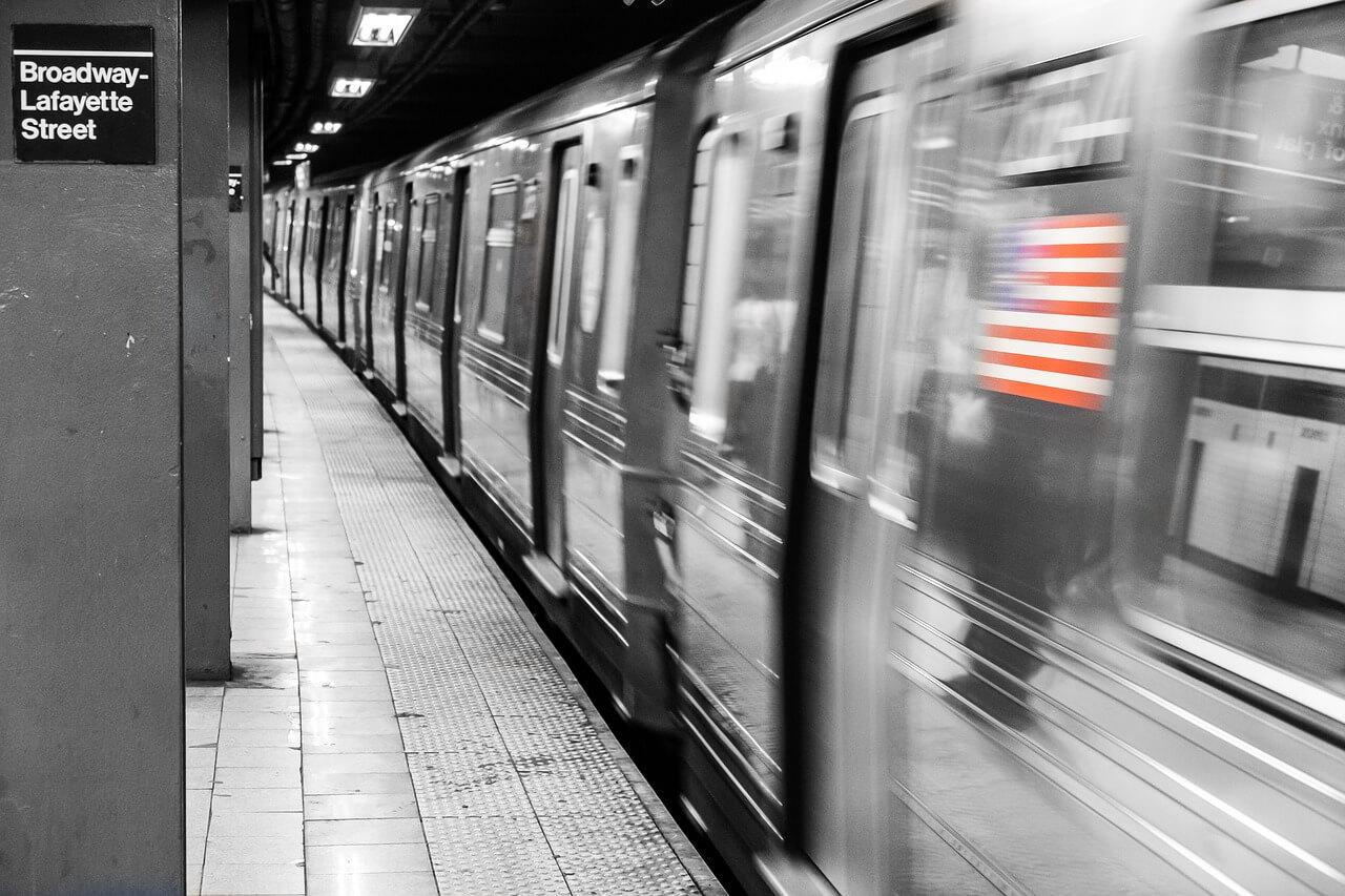 Transporte em New York, explicamos para você como funciona. Metrô Estação Nova York.
