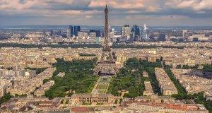 Passeios Paris, visão aérea da cidade de Paris