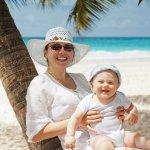 Cancun com crianças