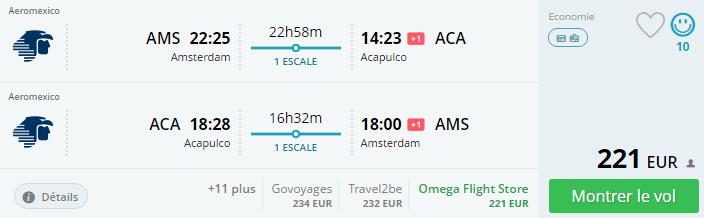 Bug de passagem Amsterdam/ El Salvador setembro