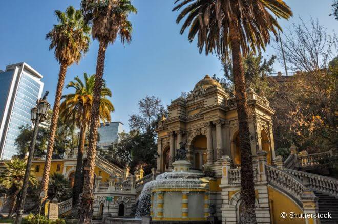 cerro de santa lucia, atrações gratuitas, chile