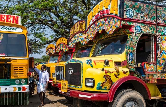 Caminhões Indianos - Sair do Brasil