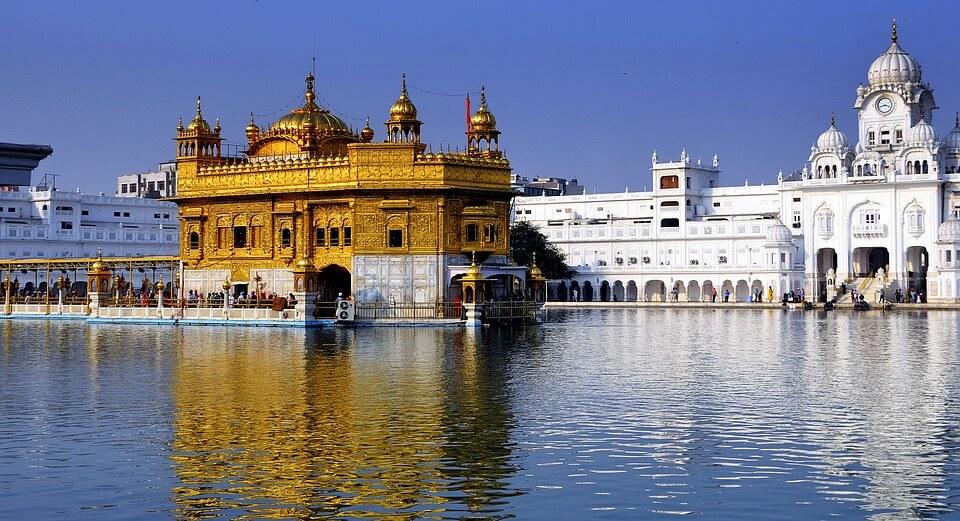 Templo Dourado de Amritsar - Índia