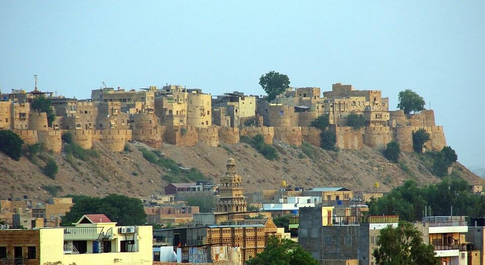 Jaisalmer - Uma fortaleza Indiana
